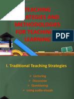 Teaching Strategies and Methodologies for Teaching & Learning