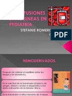 Transfusiones Sanguineas en Pediatria