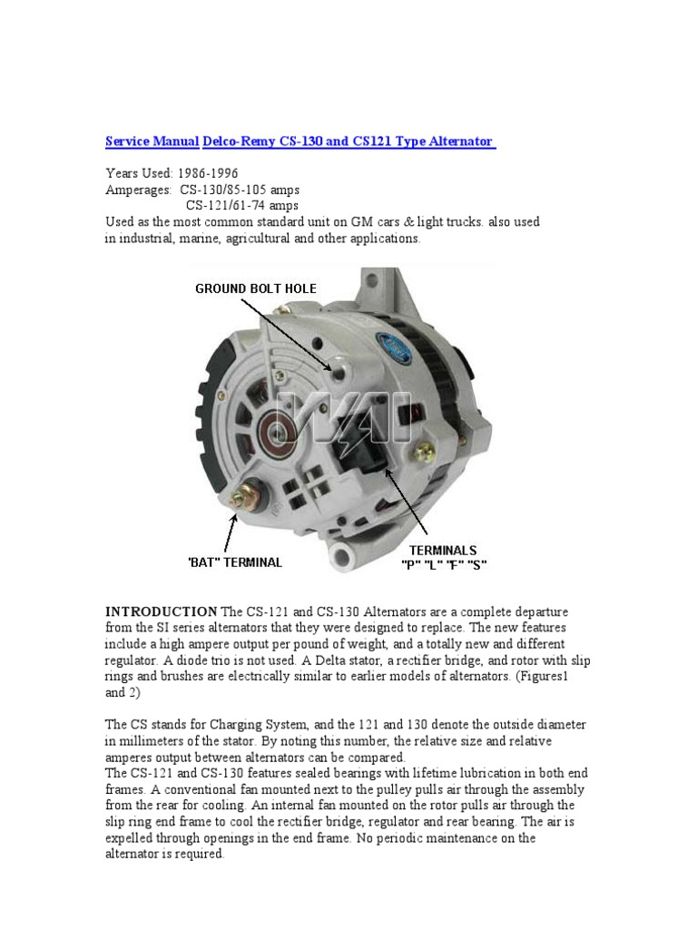 Delco Remy Alternator Also Ford Alternator Wiring Diagram Furthermore