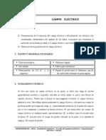 PRÁCTICA N° 3   (CAMPO ELÉCTRICO)