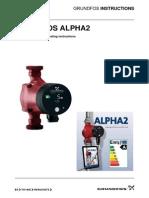 Grundfos Alpha2 Installation