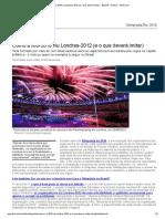 Como a Rio-2016 Viu Londres-2012 (e o Que Deverá Imitar) - Esporte - Notícia - VEJA Artigo 1