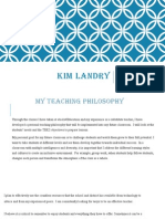 kim landry-teaching portfolio