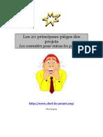 BI Gestion Des Projets Pieges
