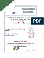 Multiplication Sentence