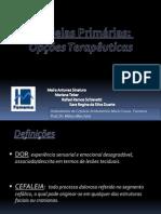 Cefaleias Primárias 01-08-2013