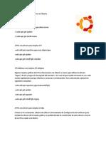 90 Comandos de Instalaciones en Ubuntu