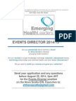 EHL Executive Team Application Information - Events Director