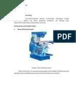 Klasifikasi Proses Milling