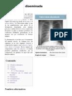 Tuberculosis Diseminada - EcuRed