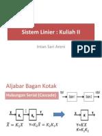 Kuliah 2-Sistem Linier
