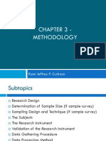 Chapter 3 - Methodology