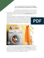 Dịch Vụ Sửa Máy Giặt Electrolux Tại Hải Dương