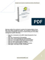 BRC Implementation Workbook Sample