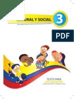 Entorno Natural y Social Estudiante 3ro Egb