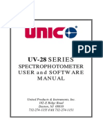 UV-2800 Software Manual