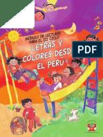Letras y Colores Desde El Peru