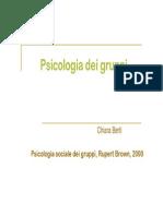 Prof.ssa Chiara Berti_ hPsicologia Dei Gruppi