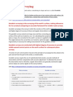 Geodetic Surveying pdf notes