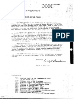 Directive to General Twining by Eisenhower, July 8 1947