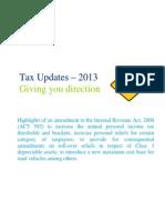 Deloitte Tax Update 2013