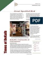 DeKalb's Courtyards of Convenience