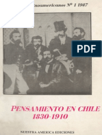 Cruzat y Tironi El Pensamiento Frente a La Cuestión Social en Chile