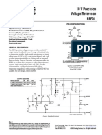 Analog Devices REF01CSZ Datasheet