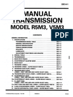 Transmision r5m3 Mitsubishi