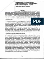 A Computational Method for Performance Evaluation of Cementitious Materials and Structures Under Various Environmental Actions