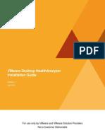 VMware Desktop HealthAnalyzer Installation Guide 1.1