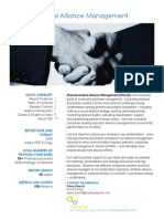 Alliance Management Cutting Edge Information PH119 Brochure
