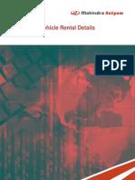 Vehicle Rental Details - Case Studies