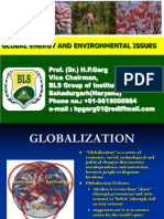 Global Energy and Environmental Issues (25.06.2011)