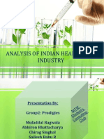 Health Care Industries in India