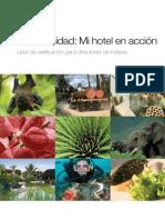 Biodiversity in My Hotel Checklist ES