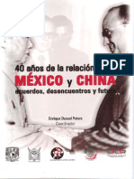 40 Años de La Relación Entre México y China