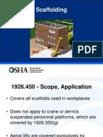 Design of Scaffolding