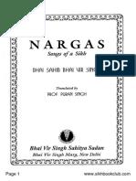 Nargas-Bhai Vir Singh English