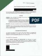Denuncia Jose Antonio Izaguirre Olaechea