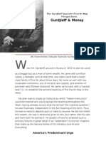 The Gurdjieff Journal Gurdjieff and Money