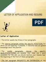 3.10 Resumes, Applications , Summarizing