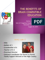 the benefits of brain-compatible education