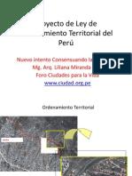 Proyecto Ley OT Peru