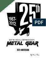 Enciclopedia Metal Gear 25 Anniversary