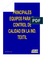 Controles Textiles