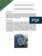Selección y Diseño de Una Turbina