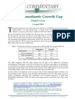 Transatlantic Growth Gap