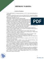XI i XII Vek-Beleska-Istorija Srpskog Naroda u Poznom Sednjem Veku PDF