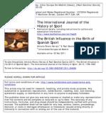 British Influence in Spanish Sport